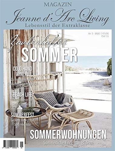 Jeanne d´Arc living*Magazin*Juli 2020 Zauberhafter Sommer*Zeitschrift*JDL Zeitung 5.Ausgabe 2020 Charme*Wohnmagazin*Deko *Rezepte DIY Ausgabe Vorbestellung Lieferung zum Erscheinungstermin 01.07.2020