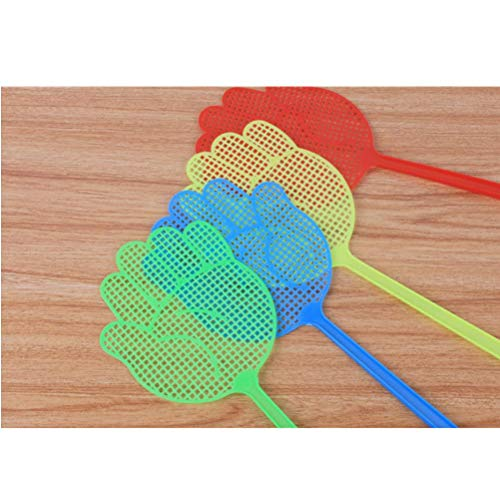 Mosquitos e Insectos WINBST 6PCS Multi-Colors Plastic Long-Handle Fly Swatter Anti Mosquito Pest Tool para Moscas