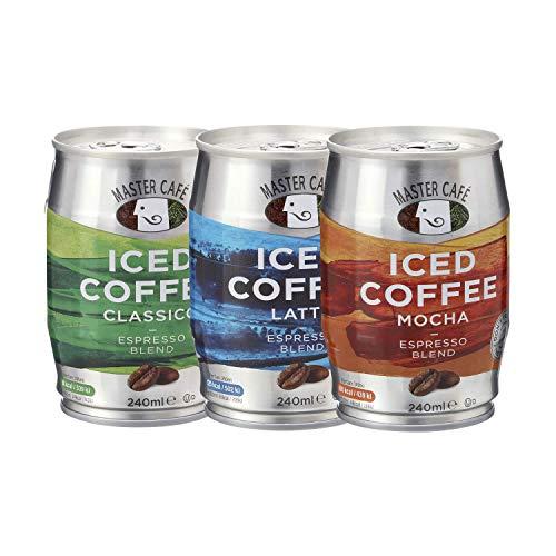 Master Cafe Eiskaffee, gemischt, 240 ml, 12 Stück