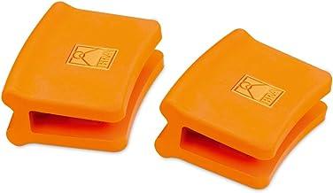 BRA Efficient - Asas de Silicona, 2 Unidades, Medida Mediana, para Efficient con diámetro de 24-32 cm, Color Naranja