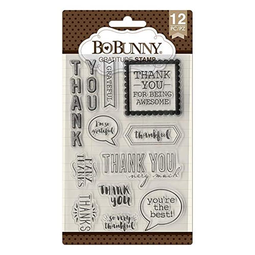 Bo Bunny 7310500 Gratitude Stamps, Multi