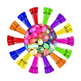 Splash A Balloon Biodegradable Water Balloons Quick Fill self Sealing Extra Easy Hot Summer Outdoor Kids Games - bloonies Water Toys Kid Set … (250)