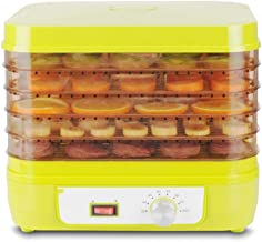 ZNBJJWCP Déshydrateur Alimentaire séchoir Alimentaire Machine à Fruits secs Maison Viande légumes Fruits 5 étage déshydrat...