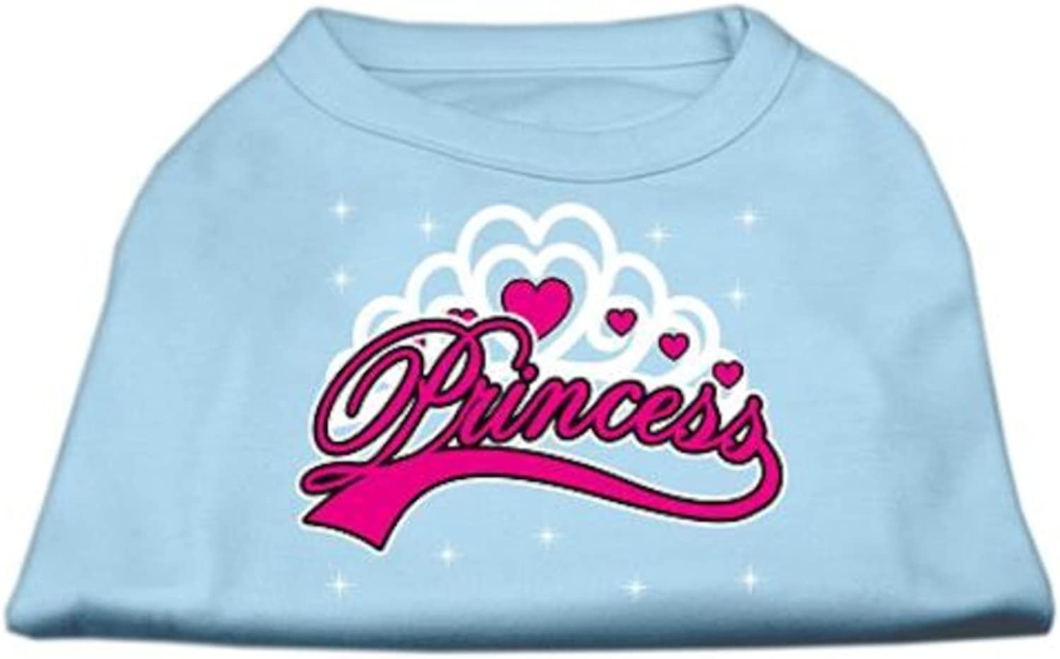 Mirage Pet Products 20Inch I'm a Princess Screen Print Shirts for Pets, 3XLarge, Baby bluee