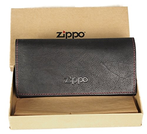 Lifestyle-Ambiente Zippo - Sacchetto per Tabacco fine con Custodia, Colore: Marrone
