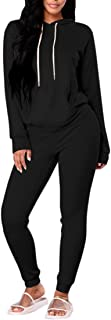 black womens sweatsuit