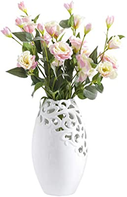 Creative Decorative Ceramic Vase Flower Display Desktop Ornament Home Decor