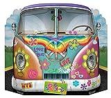 Beistle 57950 Hippie Bus Stehende Dekoration, Papier,