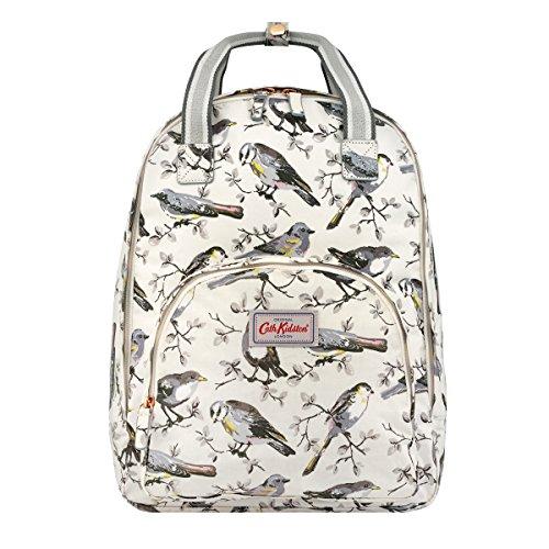 For Sale! Cath Kidston Multi Pocket Backpack Garden Birds | Women's Embroidered Backpack | Female Im...