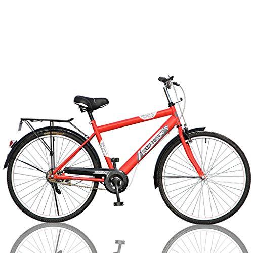 Sannysis 26 inch Men's Commuter Patrol Bike, Retro Classic Bike, Postman Bike