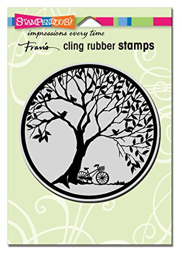 Stampendous Cling Stamp, Tree Circle