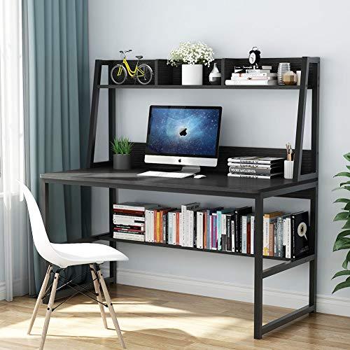 Tribesigns Computer Desk With Hutch & Bookshelf
