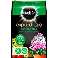 Miracle Gro Concentrated Enriched Compost expands