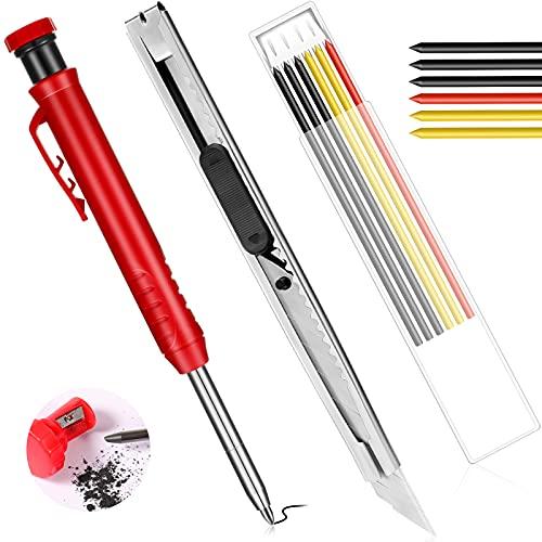 Solid Carpenter Pencils Set for Con…