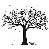 BDECOLL Wandtattoo'riesiger Familie Foto Baum' Wandsticker,DIY Dekorativ Kunst Wandaufkleber,Baum Wandaufkleber für Kinderzimmer Dekorationv(B)
