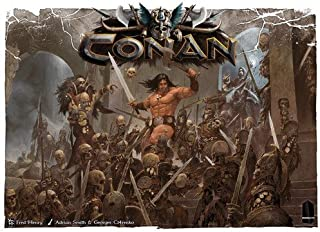 Monolith Board Games CON01 Conan Board Game