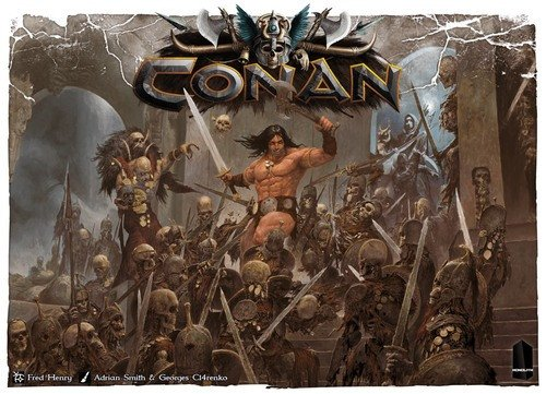 Monolith Board Games Conan Brettspiel