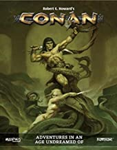 Modiphius Entertainment MUH050374 Conan: Adventures in an Age Undreamed of, RPG Game