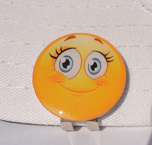 Lashes Emoji Golf Ball Marker & Magnetic Hat Clip