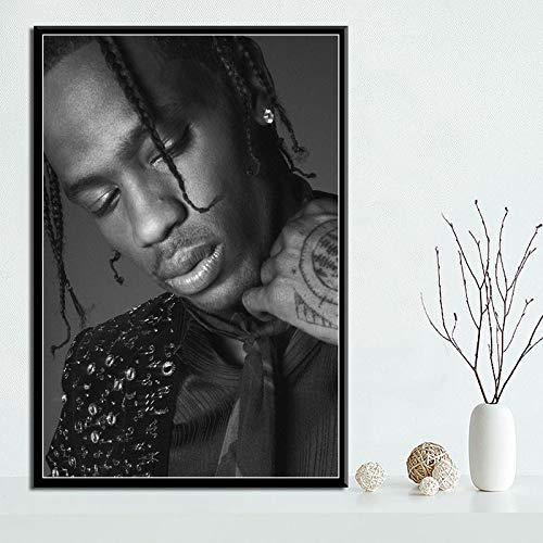 fancj Puzzle 1000 teile75x50cm Travis Scott Rapper Music Star FashionPrintsPrincesa Puzzle
