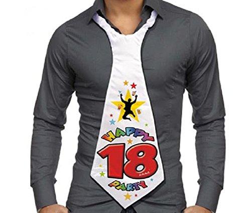 CRAVATTONE 18 AÑOS - Corbata Gadget idea regalo fiesta 18 cumpleaños hombre