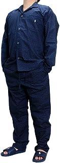 (ポロ ラルフローレン) パジャマ POLO RALPH LAUREN メンズ パジャマ上下セット 長袖 長ズボン ルームウェア 大きいサイズ P518HR-P505HR [並行輸入品]