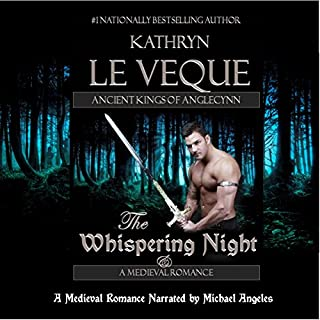 The Whispering Night                   By:                                                                                                                                 Kathryn Le Veque                               Narrated by:                                                                                                                                 Michael Angeles                      Length: 10 hrs and 59 mins     2 ratings     Overall 4.0