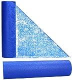 AmaCasa Camino de Mesa Azul | No Teijdo | Correa de Mesa, Cinta de Mesa | No Teijda | Boda, Comunión, Celebraciones | (Azul, 30cm/25m)
