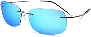 06d22eb4c5 Lxc Las Gafas De Sol Cuadradas Sin Tornillos Conductor De Titanio Gafas De  Sol De Conducción