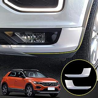 Compatibile con Volkswagen T-ROC 11//2017 Avisa 2//38021 Paraurti Posteriore in Acciaio Inox Cromato