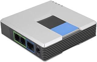 VoIP-gateway, gateway SIP RJ45-kabel Adapter voor internettelefoon Internettelefoon voor Voice-over-IP(European regulations)