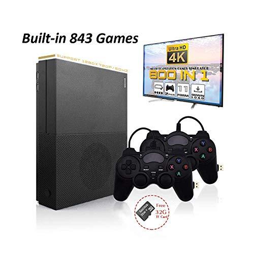 ANBERNIC Console di Gioco Retro, X-Pro Console di Giochi Portatile Built-in 800 Classic Giochi, 4K HDMI TV Video Game Console