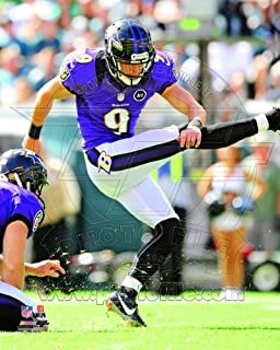 Justin Tucker Baltimore Ravens 8x10 Photo AAPE084