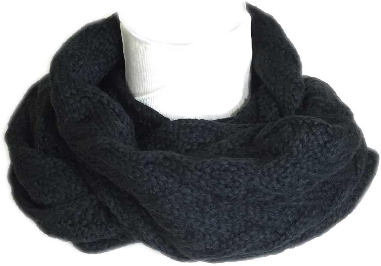 Aesthetinc Classic Knit Herringbone Texture Infinity Scarf
