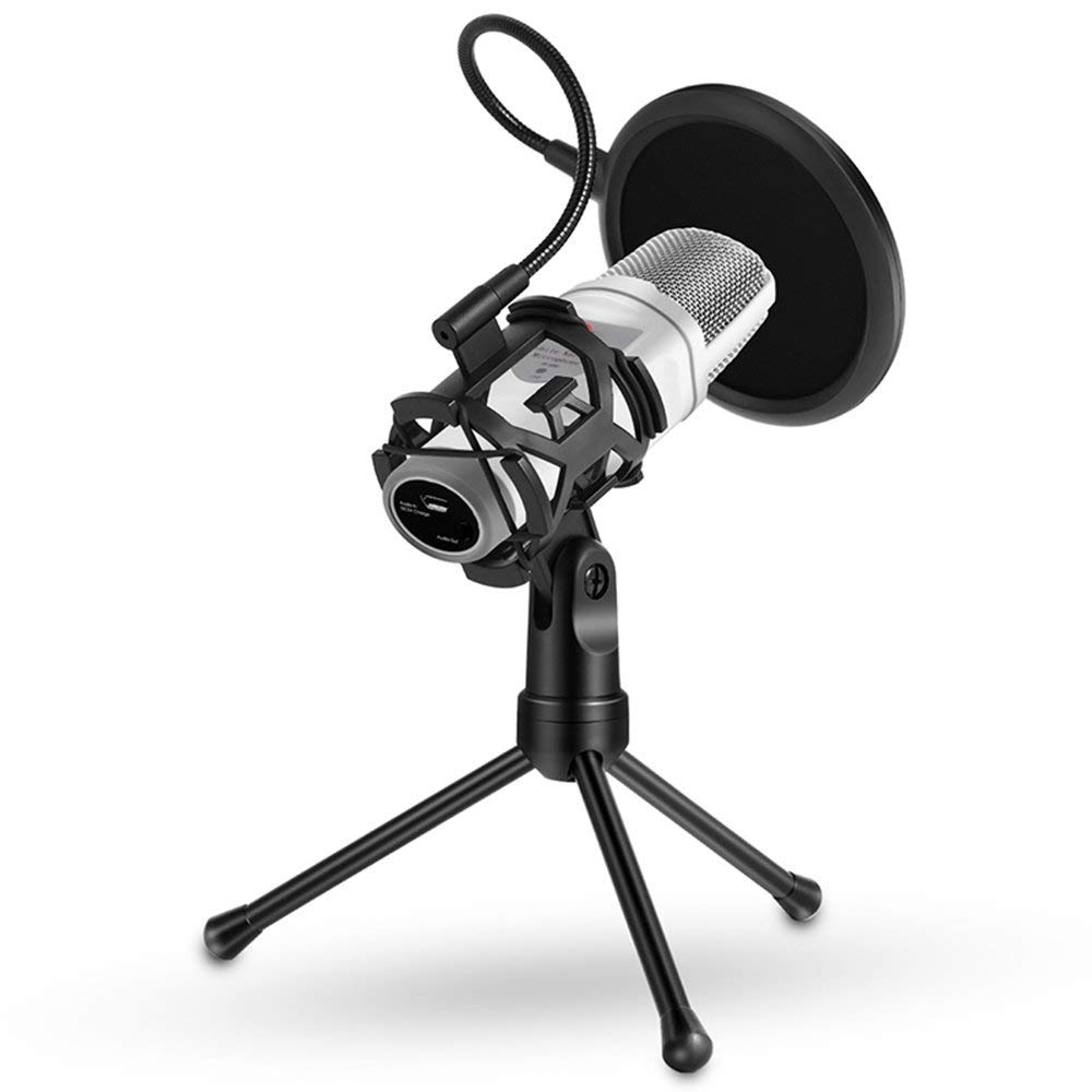 Foldable Microphone Desktop Broadcasting Chatting