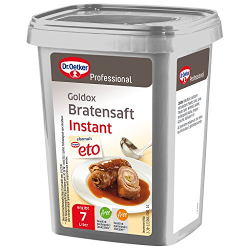 Dr. Oetker Professional Instant Bratensaft, Trockenmischung in 700 g Dose