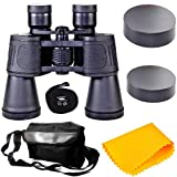Rockfieln Powerful Binocular for Long Distance Foldable Monocular Telescope zoomable 10x50 with Lens