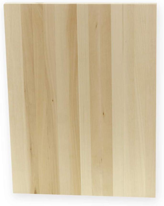 40 x 30 cm sin pintar Tabla de madera sin terminar rectangular pirograf/ía madera maciza manualidades Azhna para pintura