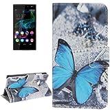 Mecaweb Handy Taschen für WIKO Ridge 4G Schutz Hülle Flip Cover Klapp Hülle