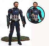 Diamond - Figura articulada Capitán América, multicolor, talla única (Diamond APR182168)...