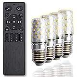 【Amazon限定ブランド】LED電球 口金 E26 リモコン付 40w形相当 調光調色 SB2-cn-e26-4+1 FineKagu+