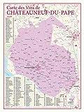 Carte des vins de Chateauneuf du Pape