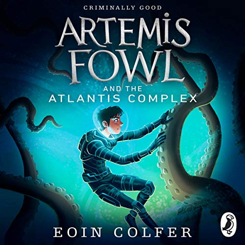Artemis Fowl and the Atlantis Complex cover art