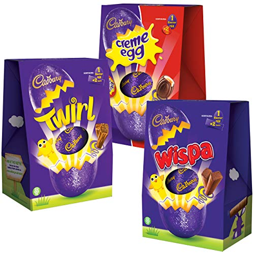 Cadbury Large Easter Egg Trio