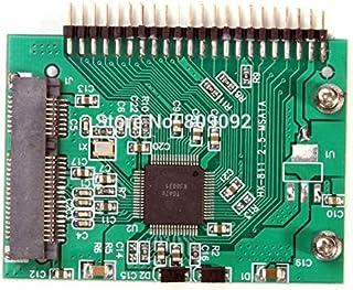 """كابلات ووصلات الكمبيوتر - ميني PCI-e msata SSD 1.8 إلى IDE 2.5 """"3V/ 44pin محول بطاقة msata PCI Express Adapter for Laptop ..."""