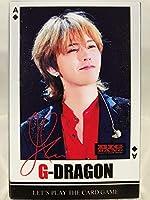 TradePlace G-DRAGON ジードラゴン ジヨン - BIGBANG ビッグバン グッズ / トランプ カードゲーム (フォトカード) 54枚セット - Playing Cards (Photo Card) 54pcs [韓流 K-POP 韓国製]