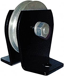 Pulley Block, Wire Rope, 1000 lb Load Cap.