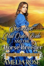 Secretive Mail-Order Bride and the Horse Breeder: Inspirational Western Mail Order Bride Romance (Daisy Creek Brides Book 5)