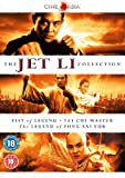 The Jet Li Collection (Fist of Legend, Tai Chi Master, The Legend of Fong Sai Yuk) [Reino Unido] [DVD]