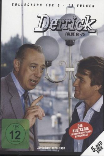 Derrick - Collector's Box Vol. 05 (Folge 61-75) [5 DVDs]